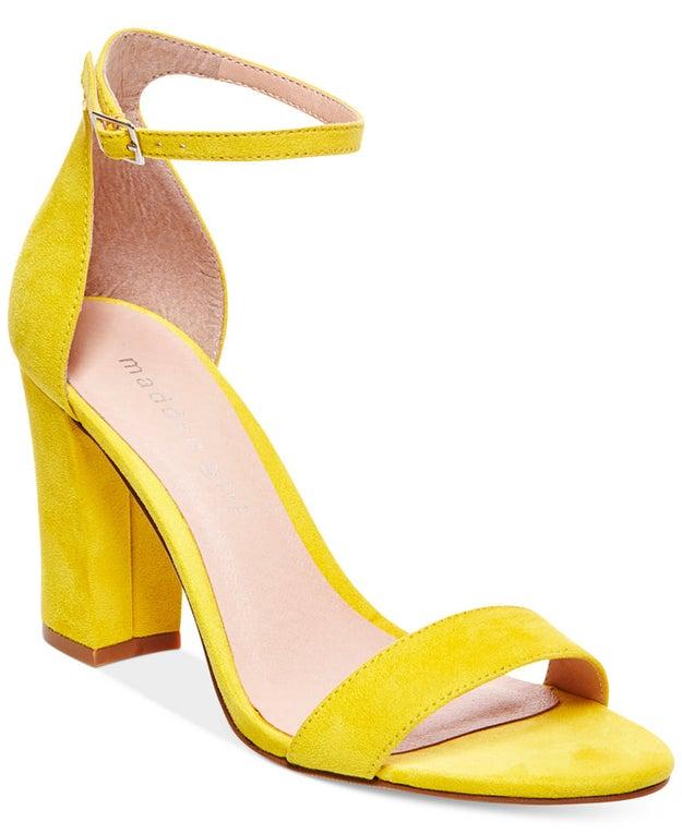 Madden Girl Bella Two-Piece Block Heel Sandals, $49