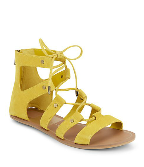 Dolce Vita Val Lace Up Sandals, $49.99
