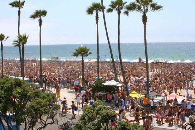 A mais versátil: Manhattan Beach, Califórnia