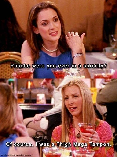 19 Signs You're Exactly The Same Person As Phoebe Buffay