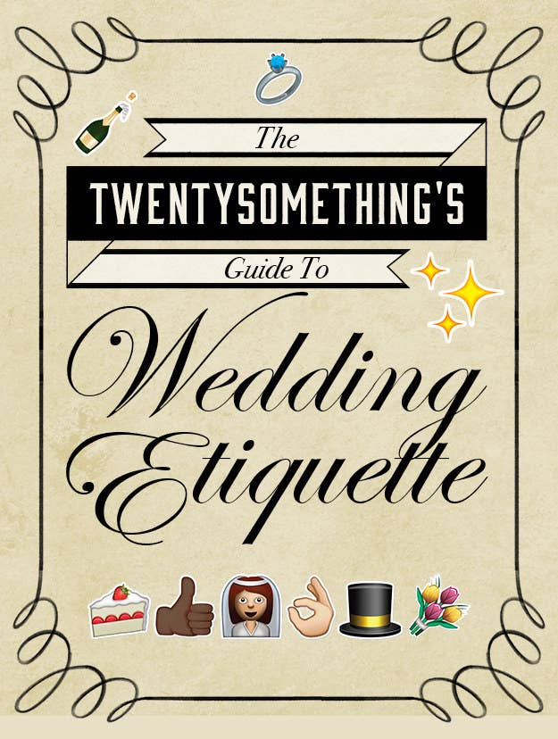 Wedding etiquette rules every grown ass adult should know share on facebook share junglespirit Gallery