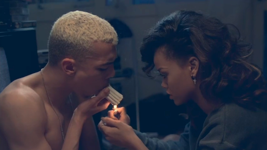 "Rihanna ft. Calvin Harris, ""We Found Love"""