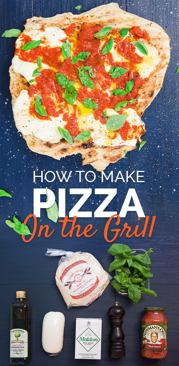 Super Easy Grilled Pizza