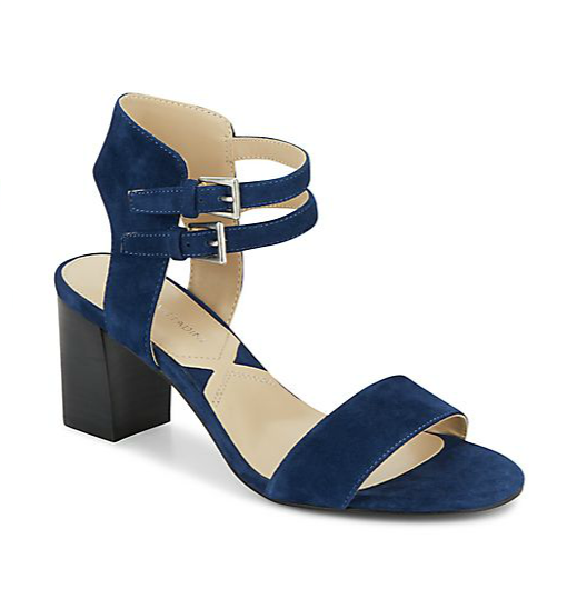 Adrienne Vittadini Palti Suede Sandals, $49.99