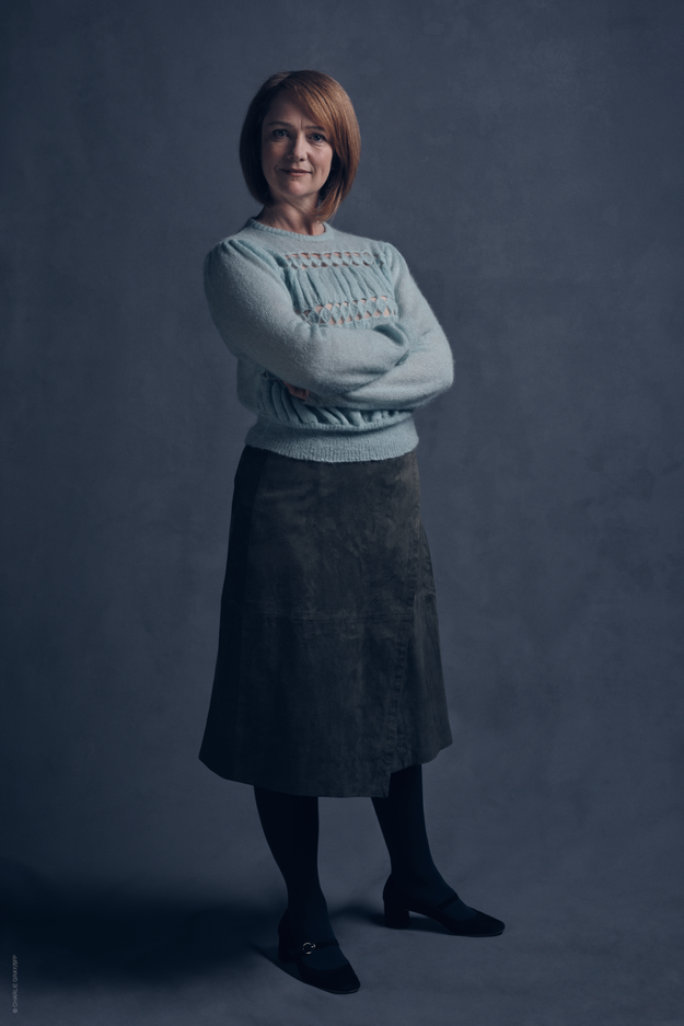 The photos also give us our first look at an older Ginny Weasley – who is now Ginny Potter.
