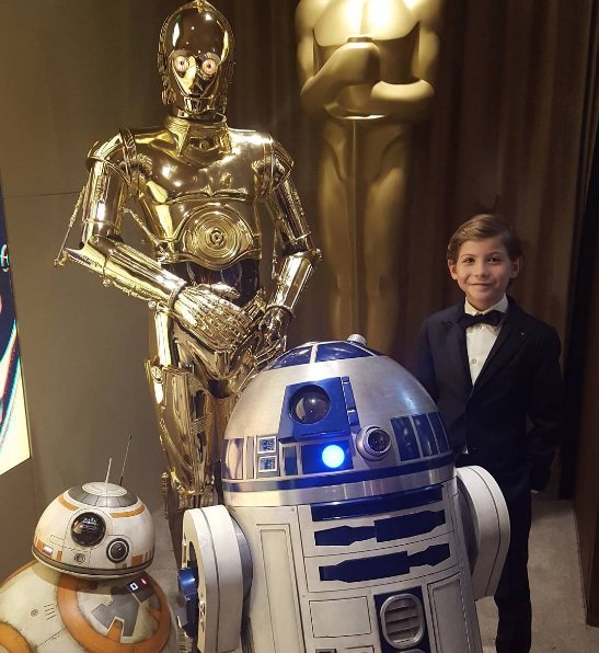 "Jacob Tremblay Shared A Cute Photo Of His Puppy For ""Star Wars Day"""