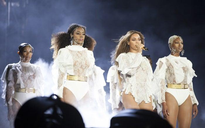 Beyoncé's Raleigh concert.