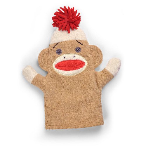 A sock monkey duster for chore-doers of all ages.