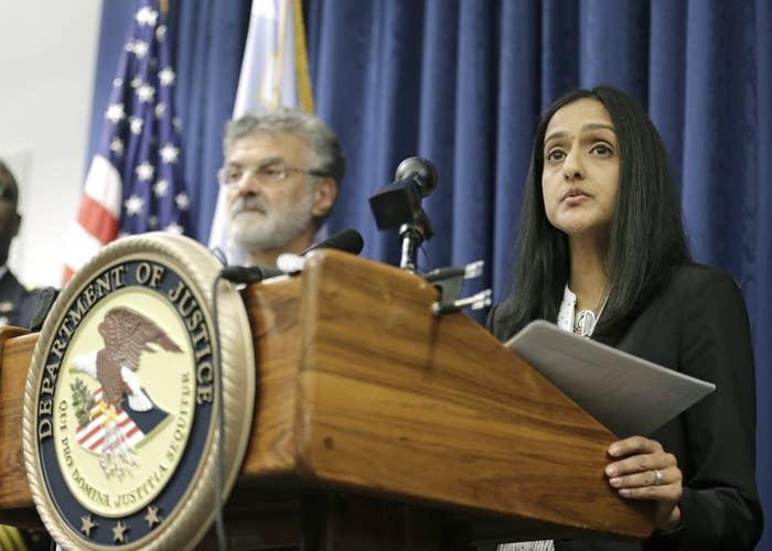 U.S. Principal Deputy Assistant Attorney General Vanita Gupta.