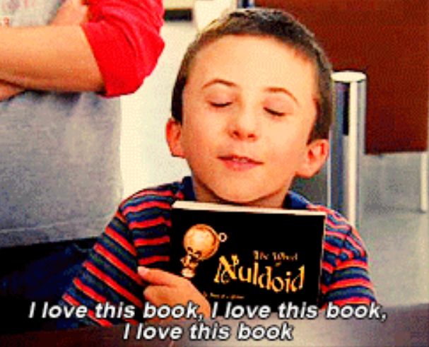 Become jealous when someone is reading your favorite book for the first time.