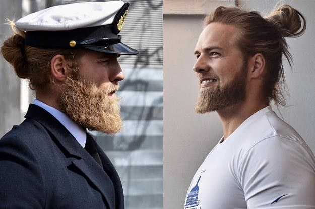 People Are Loving This Dashing Naval Officer And His