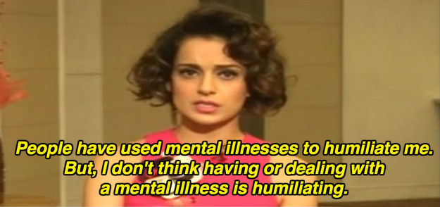 On mental health stigma: