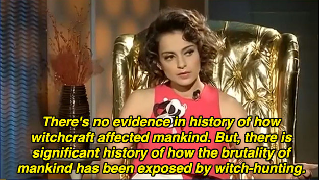 On witch-hunting: