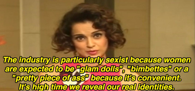 On sexism in Bollywood: