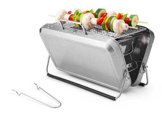 Briefcase-style Portable BBQ Grill, $80 Buy or Sell Electronics, Clothing, Accessories, Collectibles, cheapest cellphones, electronics stores onlines, and more