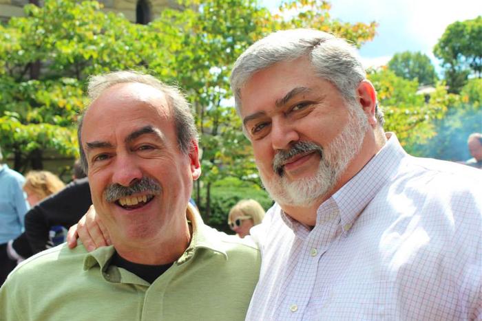 Jim Schlachter, left, and David Meredith.