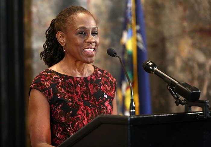 First Lady of New York City, Chirlane McCray.