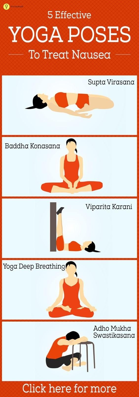 ¿Aún con náuseas? Considera el yoga prenatal.