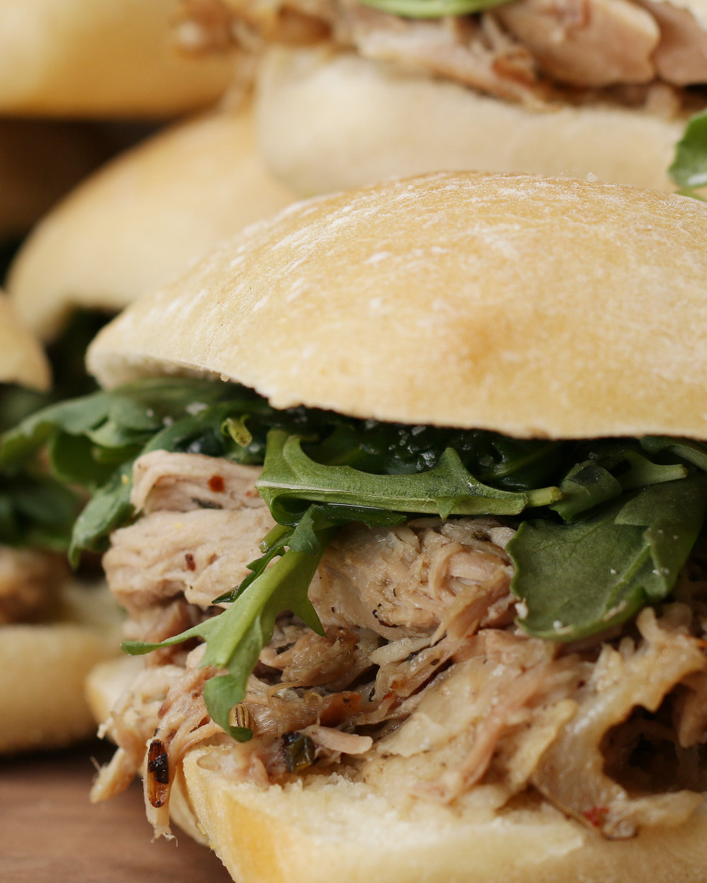 Get You Some Porchetta And Make These Tasty Sandwiches In Your Slow Cooker