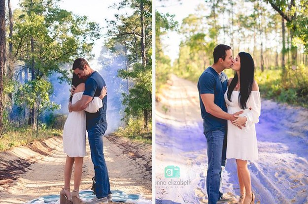 This Couple Had An Insanely Unique Baby Gender Reveal