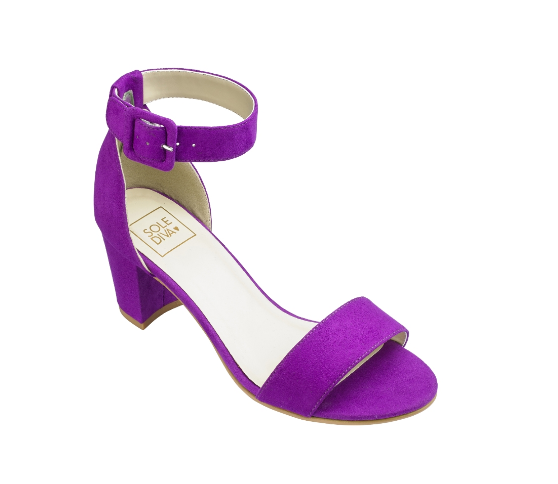 SoleDiva Block Heel Sandals, $40.99