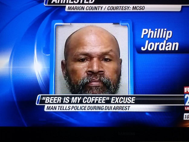 This guy's excuse for his DUI: