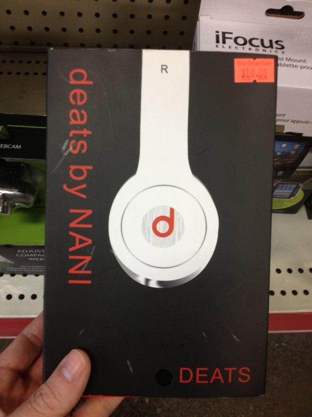 These headphones: