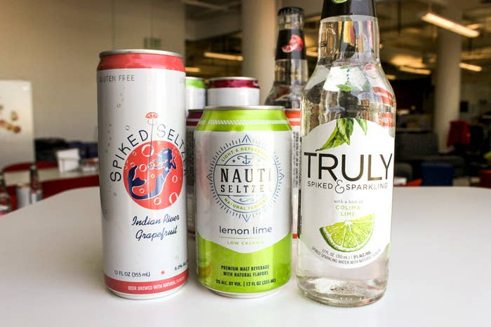 Alcoholic Sparkling Water Exists And We Tried It