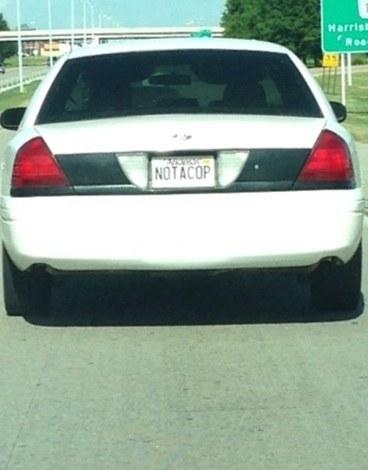 This suspicious Ford Crown Victoria: