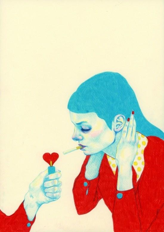 """""""Addiction"""" por Natalie Foss"""