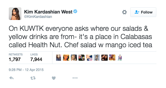 Queen of Spreading Salad Knowledge.