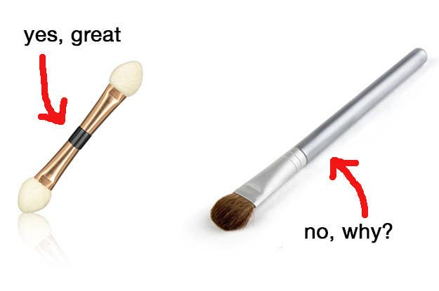eyeshadow applicator brush. and you\u0027d much rather use a simple eyeshadow applicator than waste your time with several different eye brushes. brush h