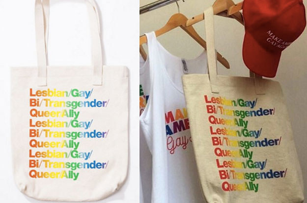 Some People Are Ed Off With American Arel For Using The Term Ally On Its Pride Bag
