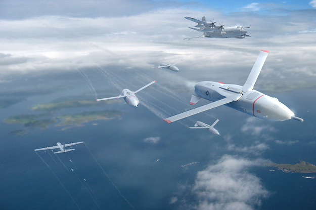 The US Military Is Betting On Smart Drones Lots And Of Them