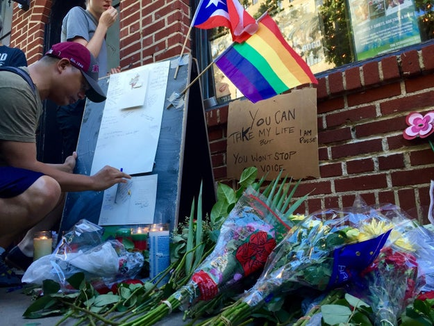Hundreds Gathered At Stonewall, The Birthplace Of LGBT Rights, To Mourn Orlando's Dead