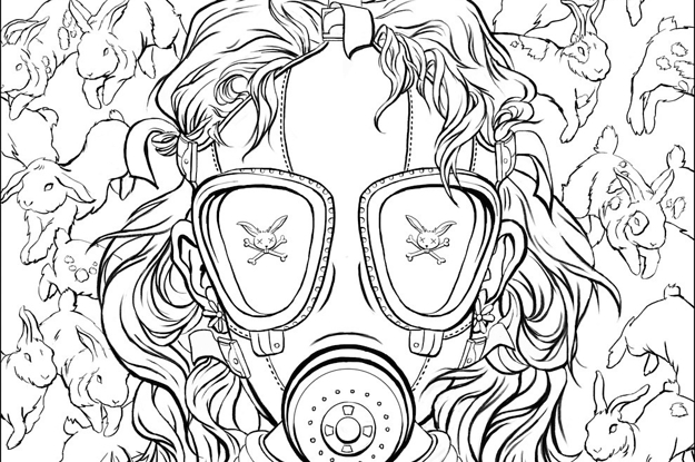 Heres The First Look At Chuck Palahniuks Coloring Book For Adults