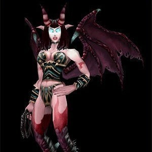 A Succubus character.