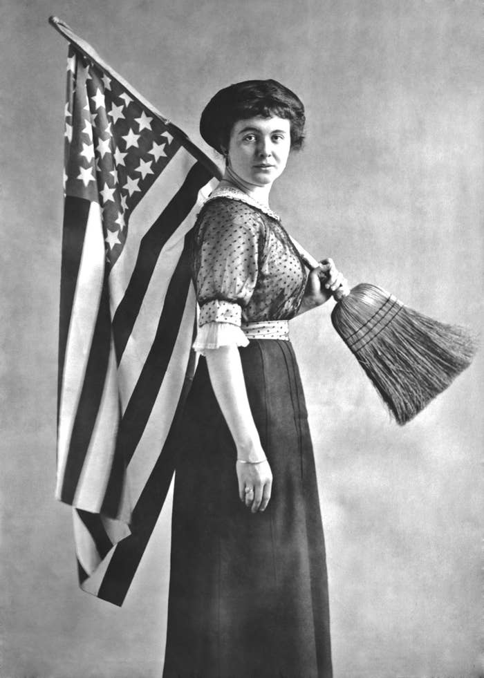27 Pictures Of Badass Suffragists From American History
