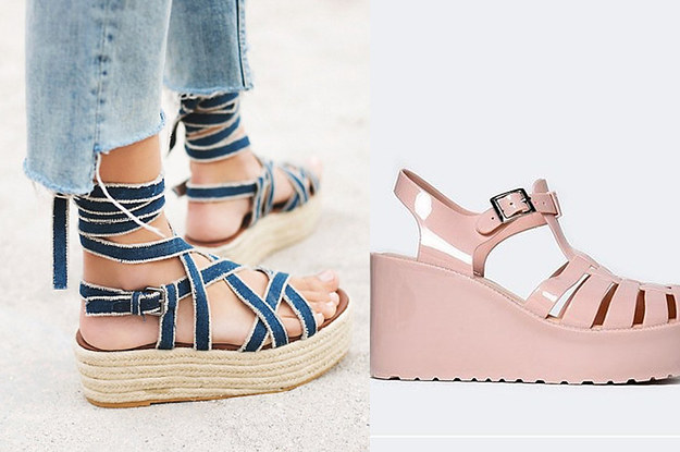 33 Cute Platform Shoes You'll Actually Want To Wear