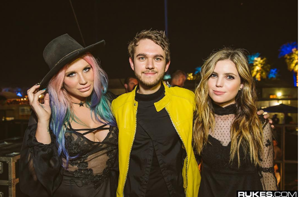 "The title track to the album, ""True Colors"" is about ""show[ing] the world who you really are."" Zedd re-released the song with Kesha and said ""by flipping a couple of words in the song, we made it extremely personal to [her] and her story."""