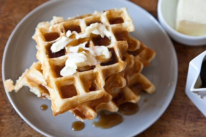 If Dad likes waffles over pancakes, this is the recipe he needs to meet. Get the recipe.