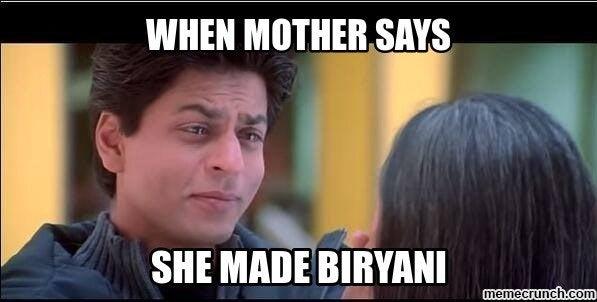Image result for biryani meme