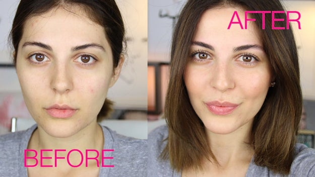 "Here's the dealio: ""No makeup-makeup"" is a beauty technique people use to give their face the natural appearance of looking like they're not wearing makeup even though they are, in fact, wearing makeup."