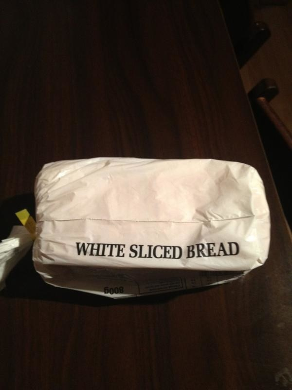 This bag of bread: