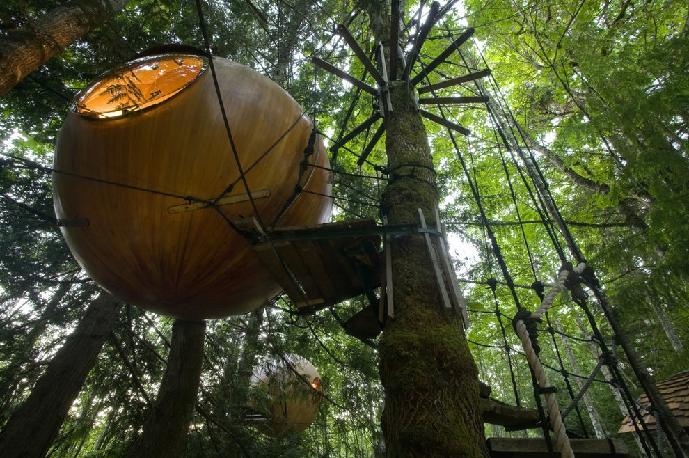Free Spirit Spheres, British Columbia