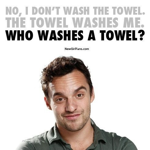 While you're at it, wash your towel and bathmats.