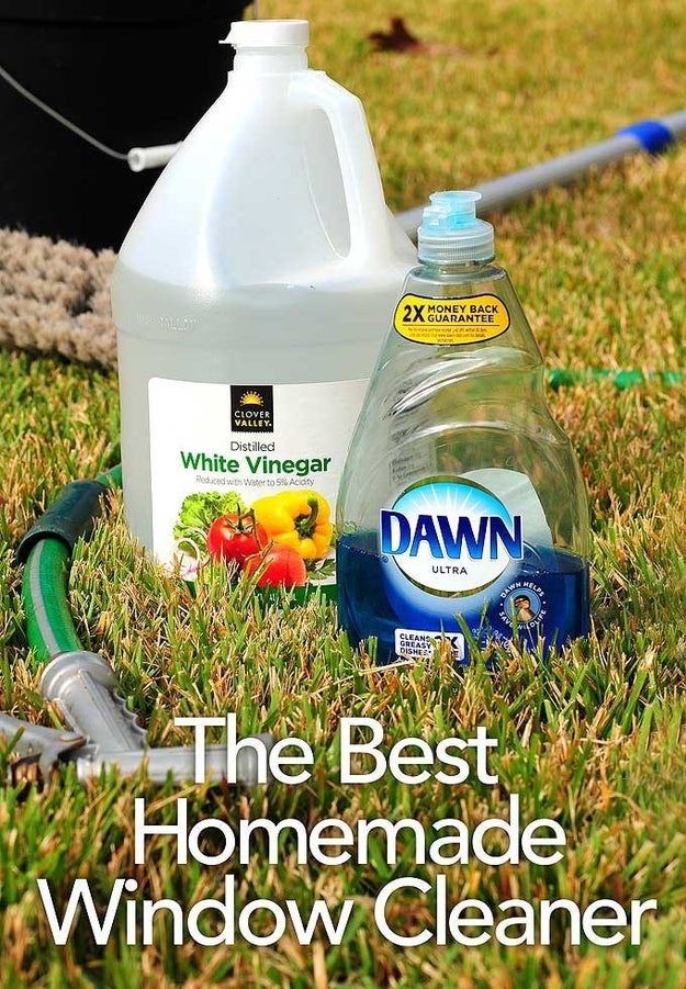 Wash the outside of your windows (assuming you live in a house with access to a hose).