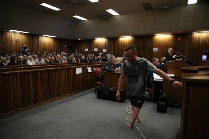 The judge is expected to hand down Pistorius's sentence by Friday at the latest.
