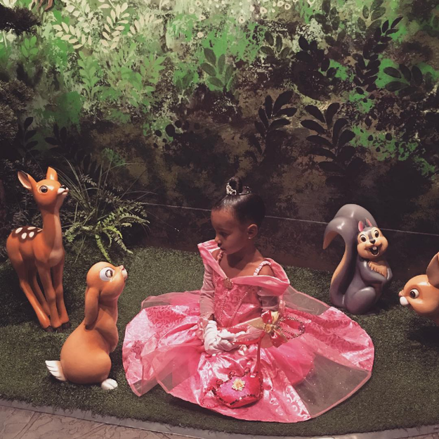 Kanye West and Kim Kardashian celebrated their daughter North West's third birthday at Disneyland yesterday, which is cute and all BUT NOT THE POINT OF THIS STORY.