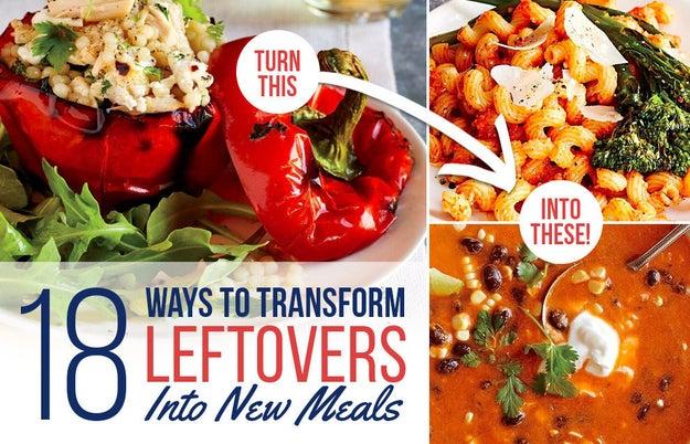 Cocina una vez y come tres veces con estas recetas de cenas de Cooking Light.